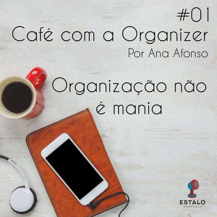Organização não é mania