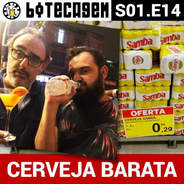 Botecagem #014 – Cerveja Barata